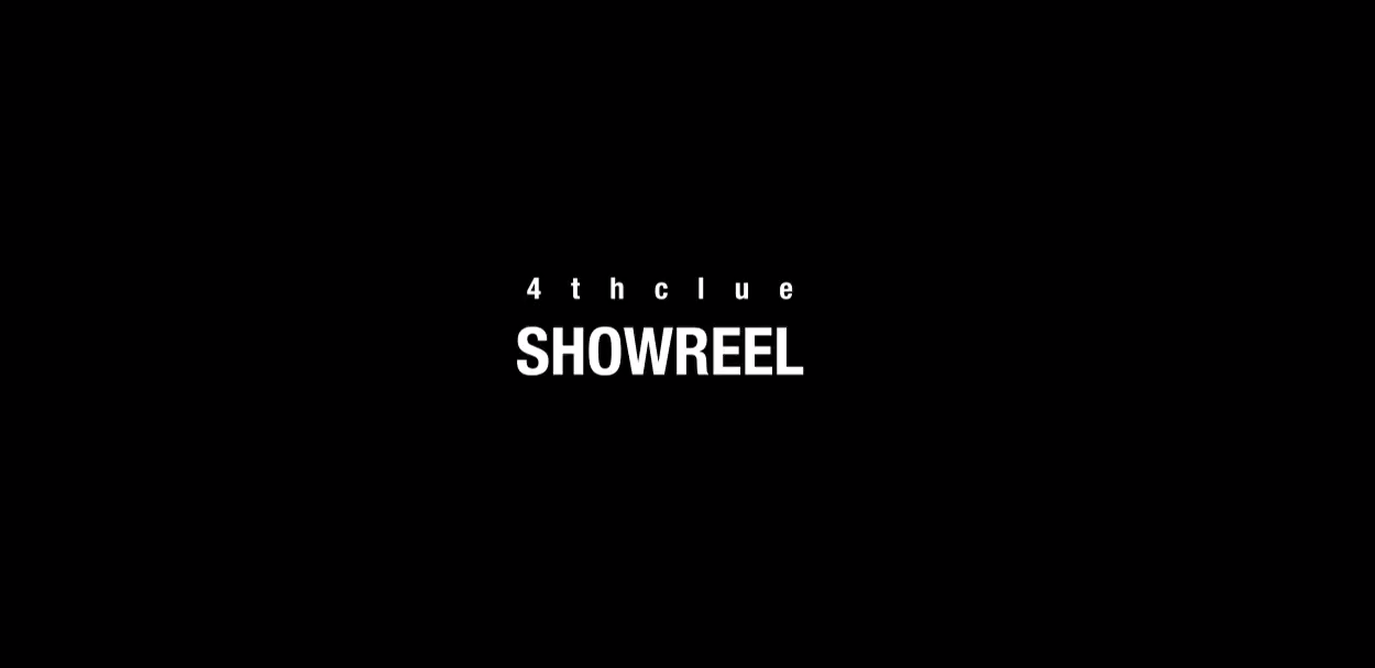 【4thclue】 SHOW REEL 2019